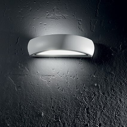 Zewnętrzna, naścienna lampa natynkowa, kinkiet ideal lux