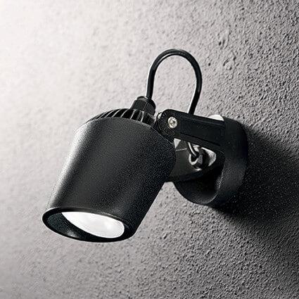 Biały zewnętrzny kinkiet lampa naścienna do domu