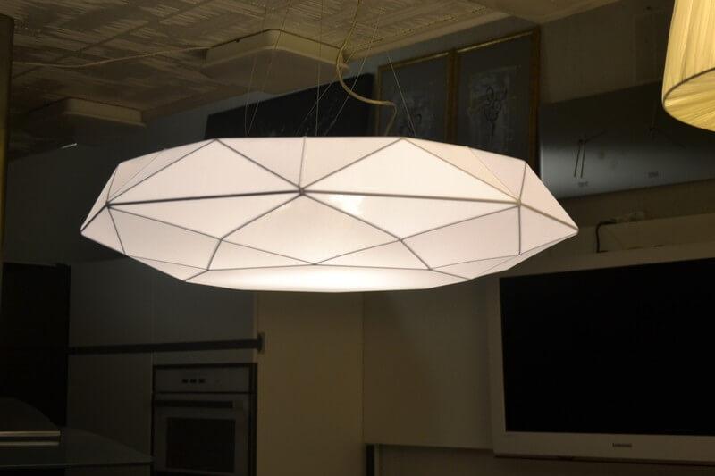 Luksusowa włoska lampa wisząca z serii Diamon firmy Morosini