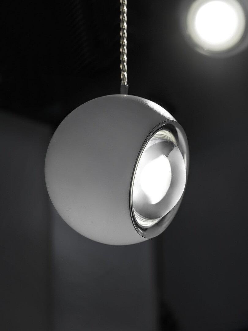 Piękna włoska lampa do salonu Spider