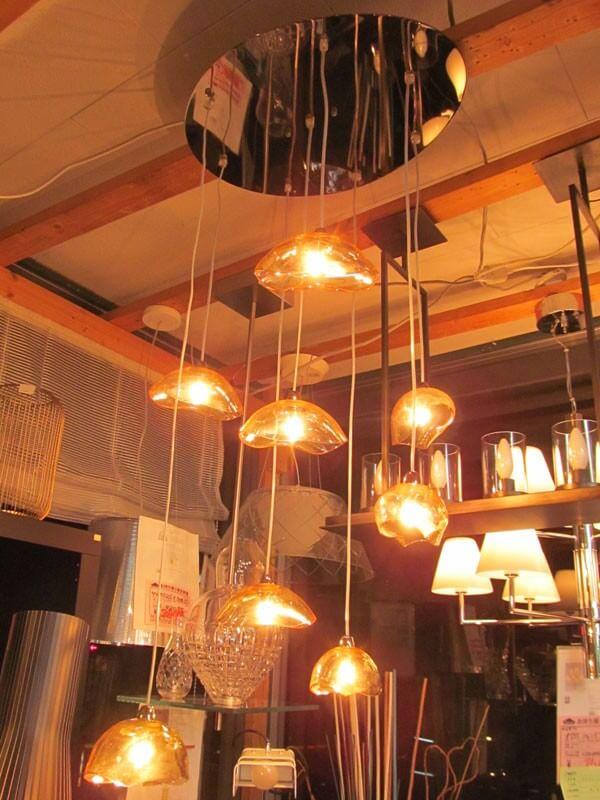 Wyjątkowa nowoczesna lampa wisząca do salonu