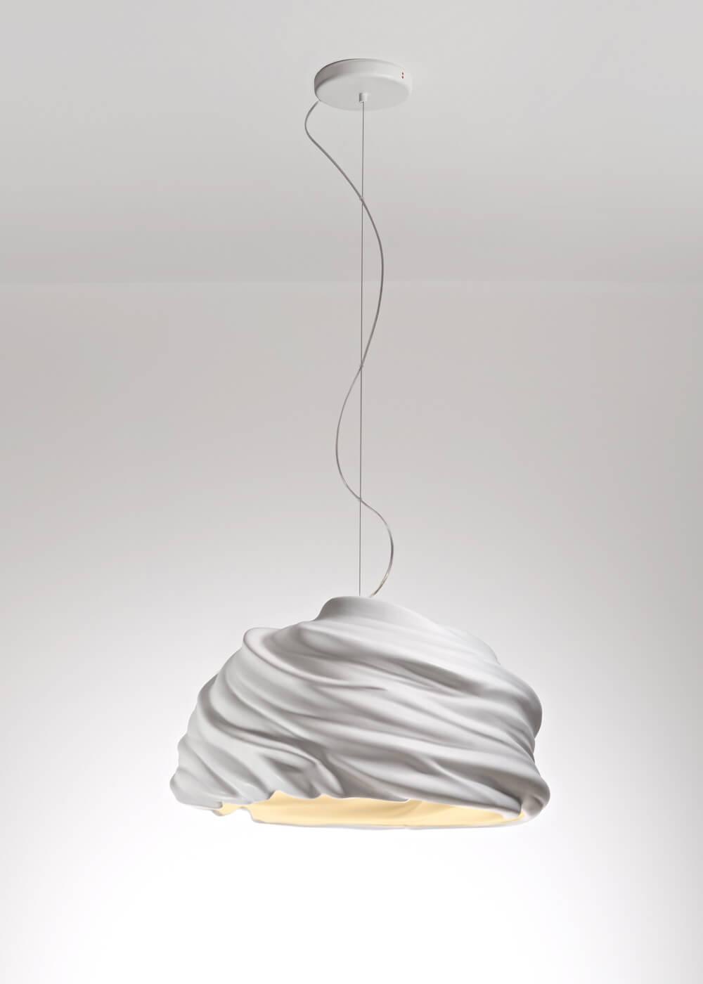 Fajna, nowoczesna lampa włoska do salonu by Fabbian