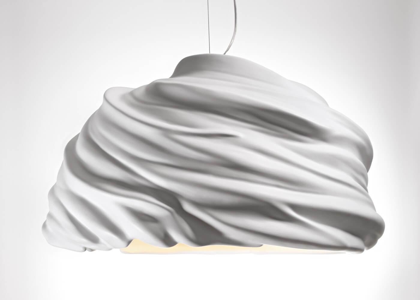 Piękna popularna lampa włoska Cyclone od Fabbian