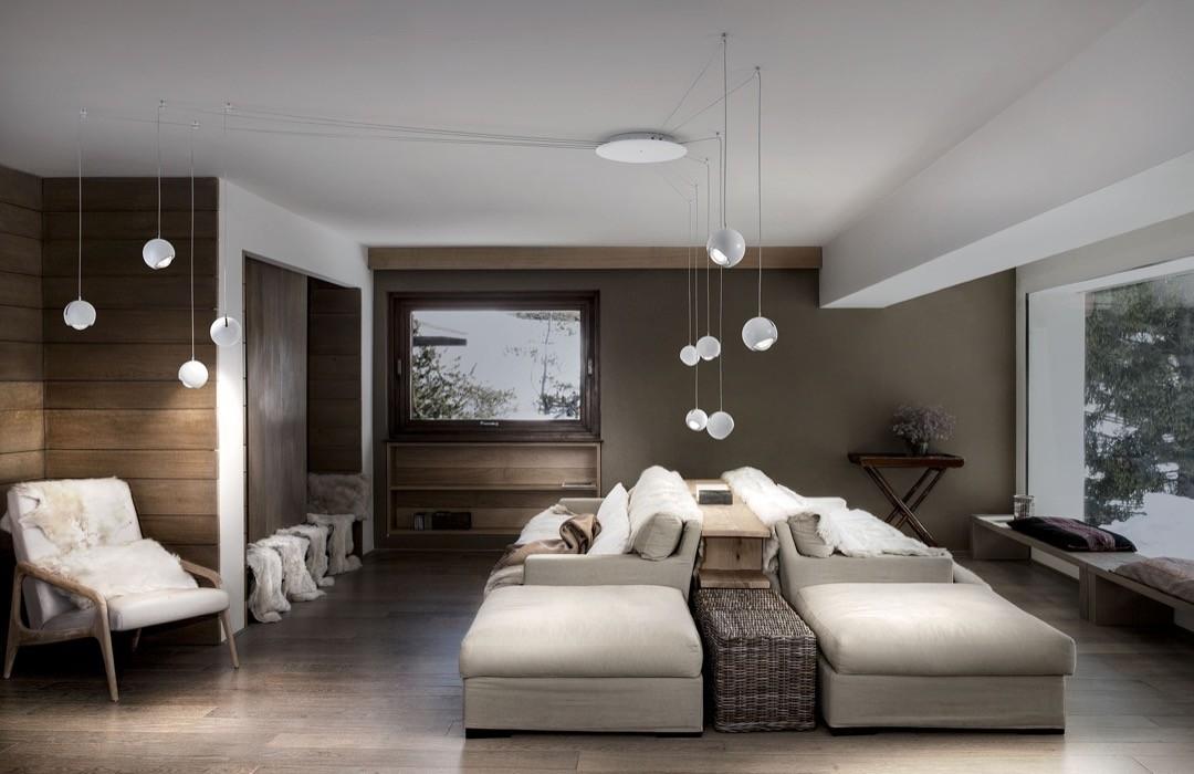 Luksusowa, popularna włoska lampa do salonu Spired - Studio Italia Design