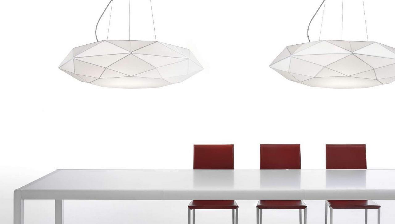 piękna popularna i nowoczesna lampa wisząca Diamond - Morosini
