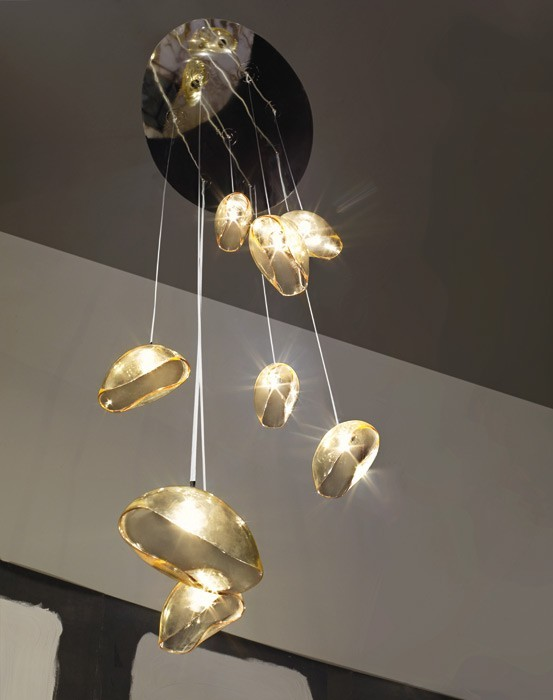Niesamowita, designerska lampa nowoczesna z Włoch - Vistosi Ninfea