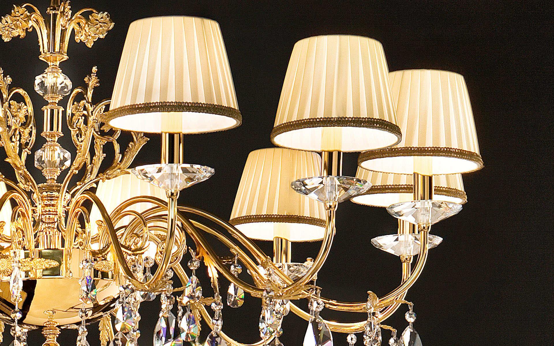 Lampa ekskluzywna z serii Primadonna producenta ekskluzywnego oświetlenia z Włoch, firmy Masiero