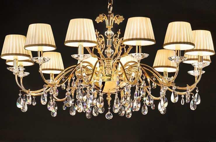 Ekskluzywna, wisząca lampa włoska Masiero - Primadonna 6025