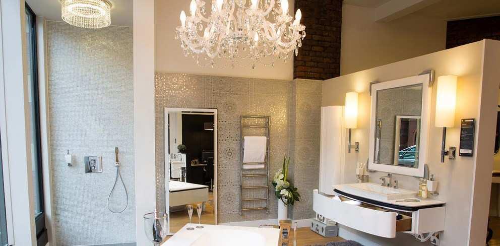 lampy kryształowe do łazienki