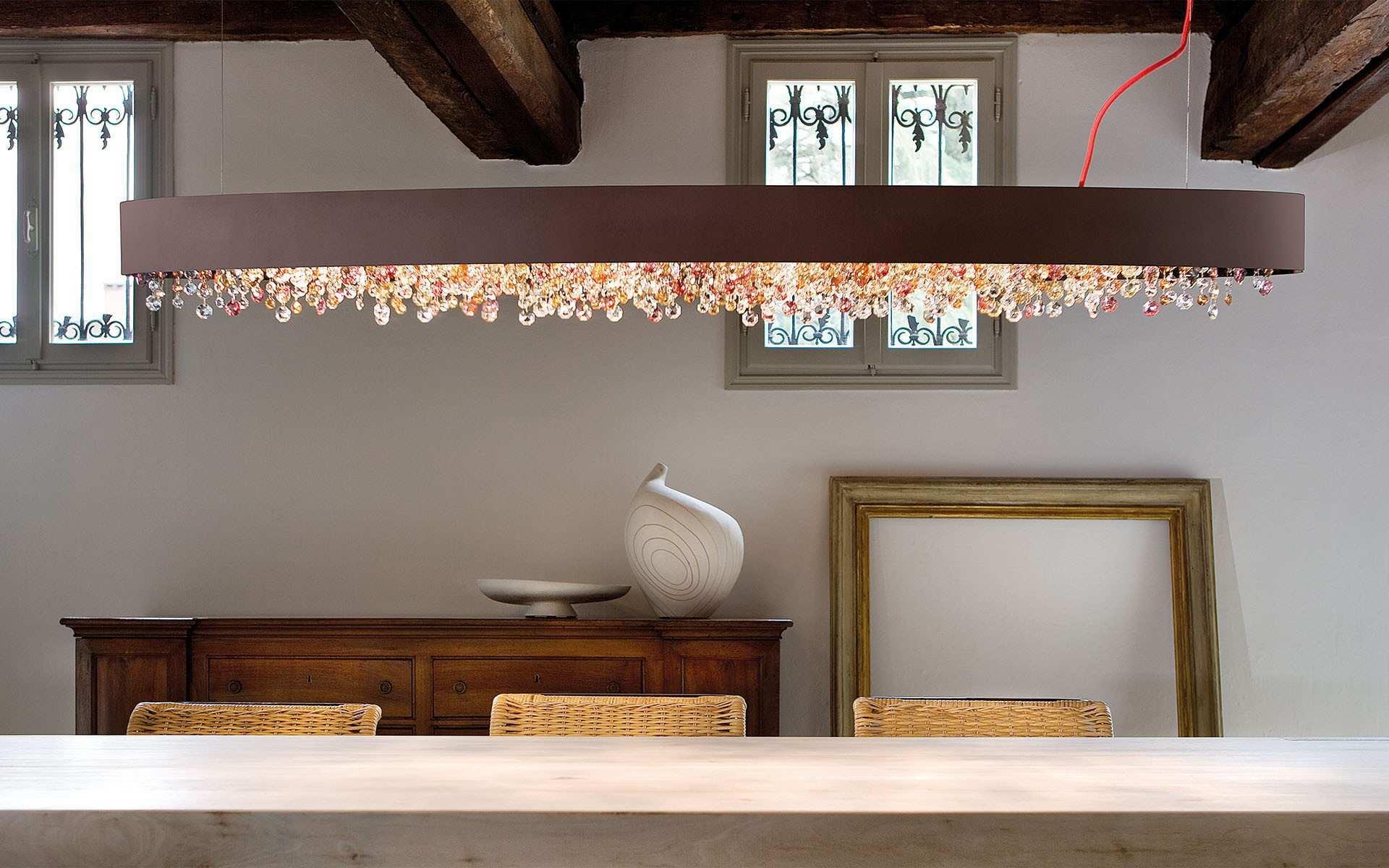 Ola S6 OV160, lampa wisząca, lampa kryształowa